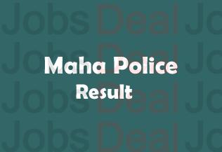 Maha Police Result 2018