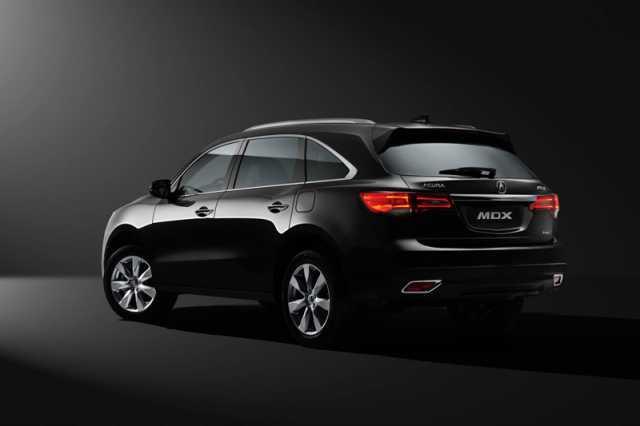 2016 Acura MDX rear