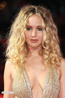 Jennifer Lawrence in a golde glittering gown at Red Sparrow Premiere in London ~  Exclusive Galleries 030.jpg