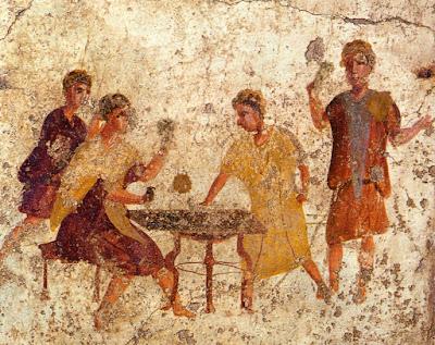gioco d'azzardo antica roma