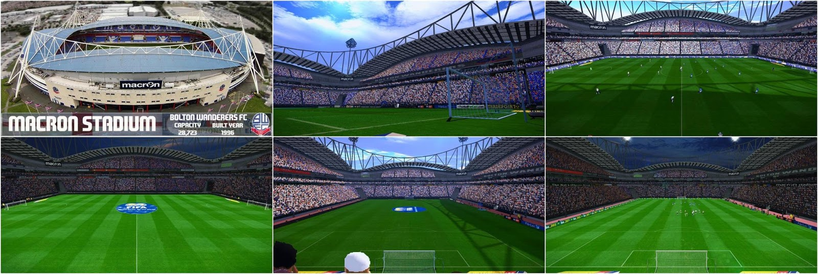 PES 2017 Macron Stadium (Bolton Wanderers F.C.) by NaN RiddLe 08