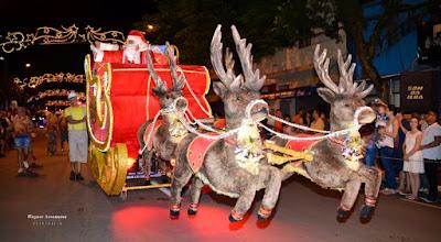 3ª Parada de Natal será nos dias 10 e 16 de dezembro em Registro-SP