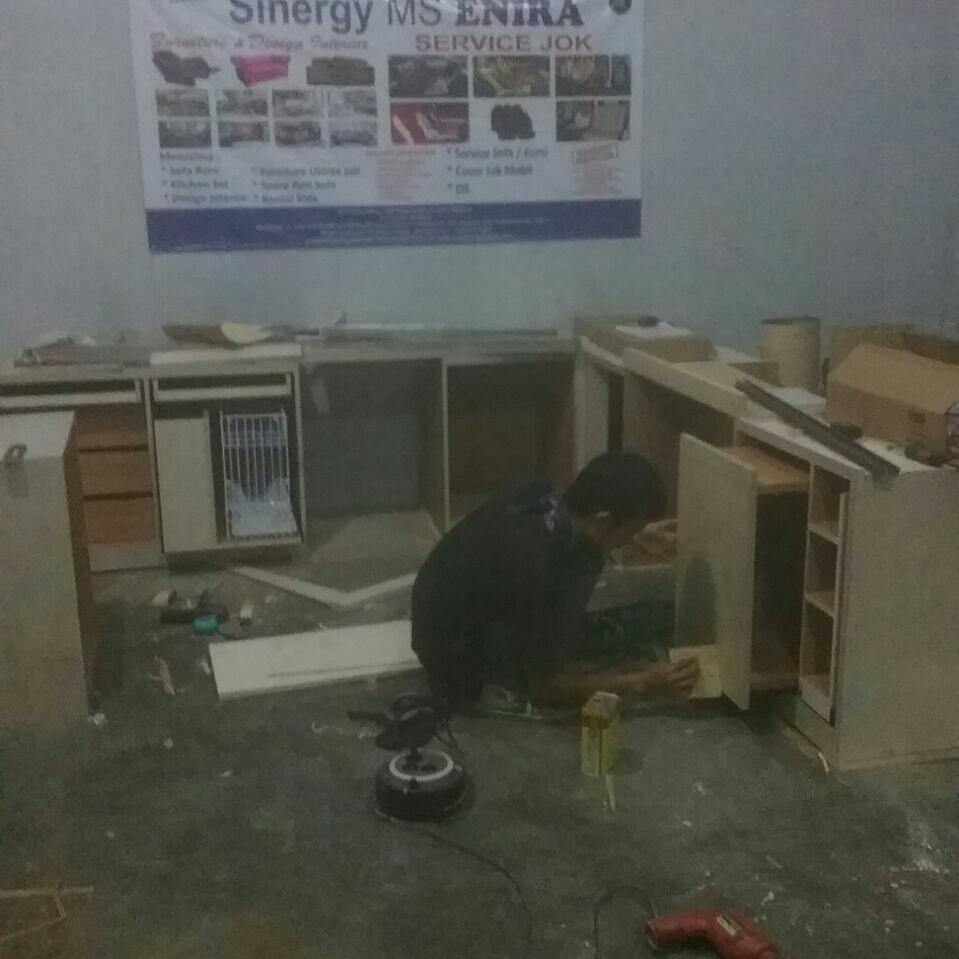 Meja Lesehan Lapis Hpl Produk Baru Enira Furniture