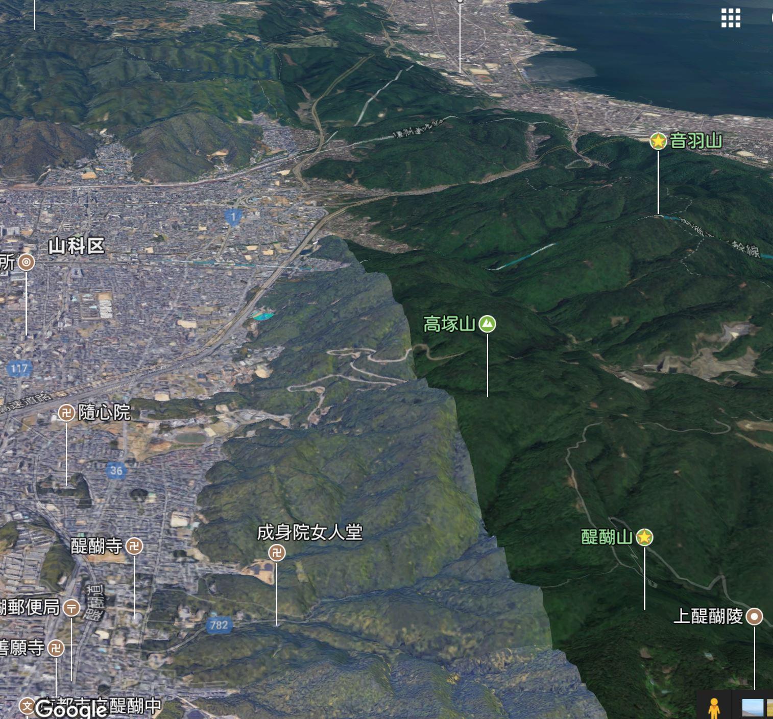 月読: 醍醐山