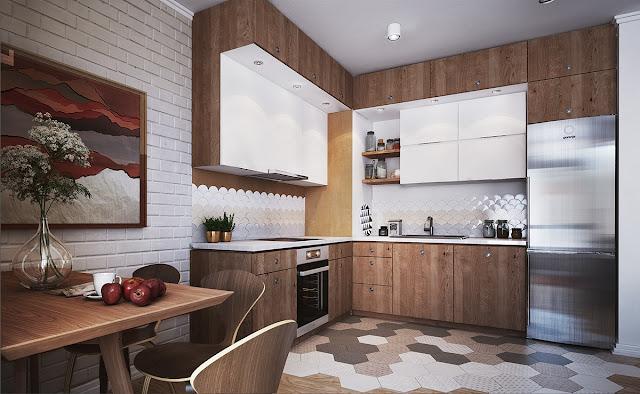Дизайн-проекты. Три малогабаритные комнаты-студии с интересным дизайном