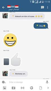 BBM Mod Instagram v2.13.1.14 Apk
