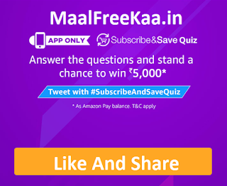 Subscribe & Save Quiz Contest