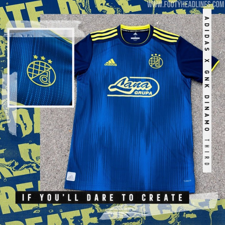 Dinamo Zagreb 19 20 Home Away Third Kits Released Footy