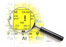 IODIN ; sumber iod , sifat , pembuatan iod , persenyawaann dan kegunaan
