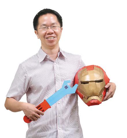 Fablab Taipei創辦人洪堯泰
