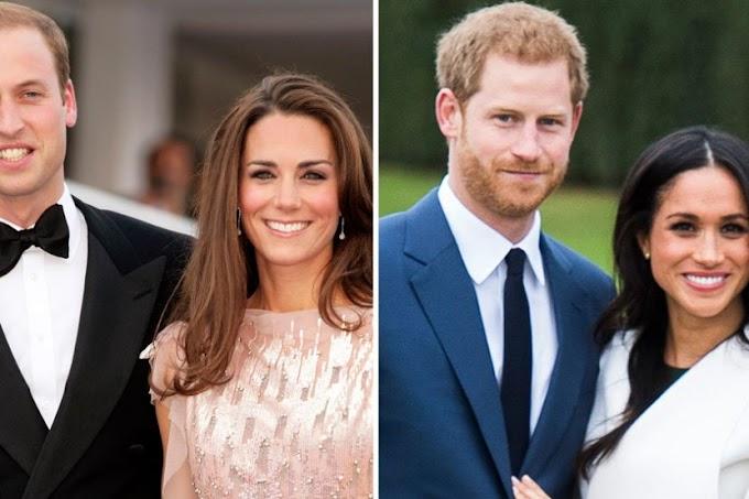 Hubungan William,Harry,Kate Dan Meghan Makin Keruh