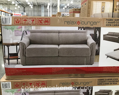Costco 1335603 - Relax A Lounger Fabric Sleeper Sofa: great for any home