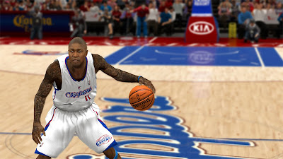NBA 2K13 Jamal Crawford Cyberface 2K Patch