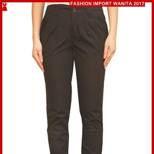 ADR137 Celana Wanita Hitam Panjang Harem Import BMG