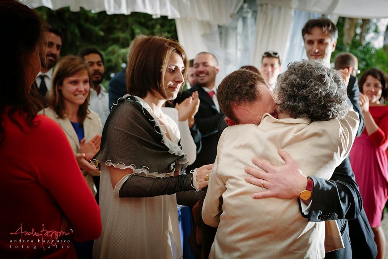 emozioni al ricevimento matrimonio Genova Palazzo della Torre