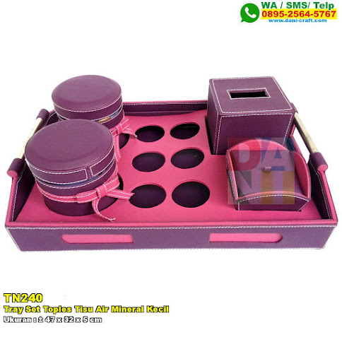 Tray Set Toples Tisu Air Mineral Kecil
