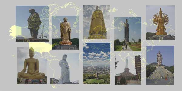Top 10 Tallest Statues in the World । Hindi