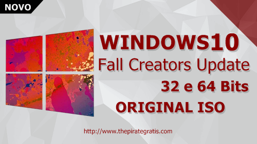 Download Windows 10 Fall Creators Update 32/64 Bits