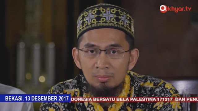 "Demi Ikut ""Aksi Bela Palestina"" di Monas, Ustadz Adi Hidayat Tunda Acara Hari Al-Qur'an di Istiqlal"