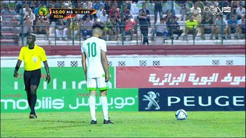 Vidéo : le cinquième but pour l'Algerie signé par Boudebouz