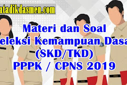 Materi dan Soal SKD PPPK/CPNS 2019