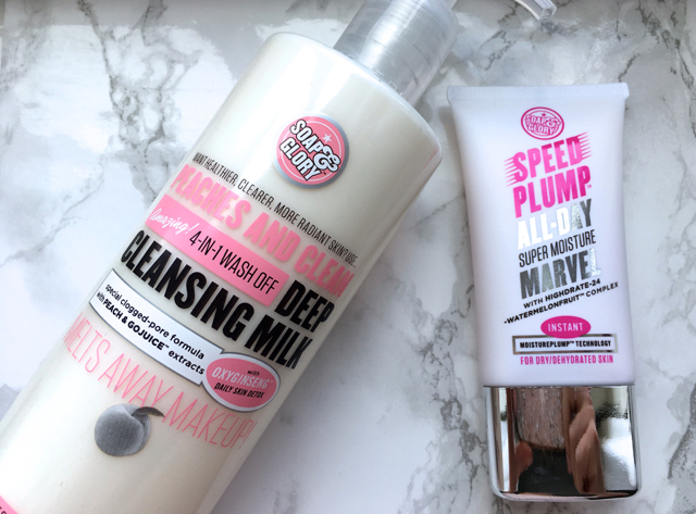 Soap and Glory skincare