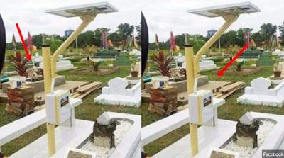 Kuburan Ini Dibacakan Yasin dengan Mp3