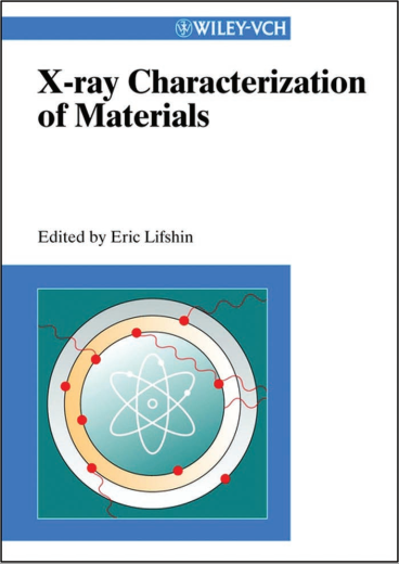 Book : X-ray Characterization of Materials - Eric Lifshin PDF