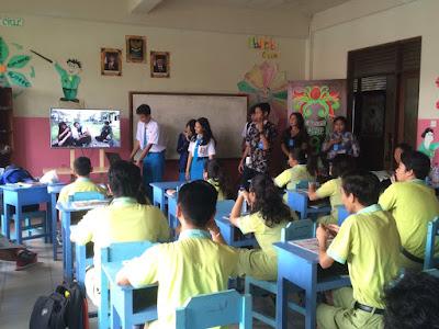 Kunjungan SMK TI Bali Global Denpasar ke SMP Petra Berkat Denpasar