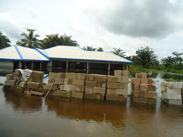 FLOOD! FLOOD! FLOODED NIGER DELTA!