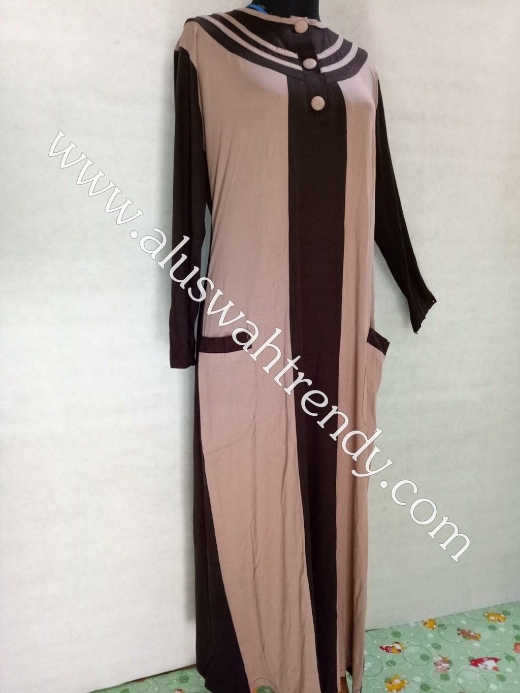 Gamis Muslimah Bahan Kaos 020