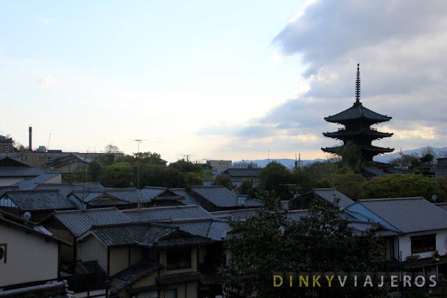 Atardecer en Higashiyama