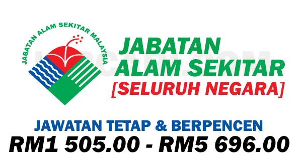 Jawatan Kosong Di Jabatan Alam Sekitar Jas Gaji Rm1 505 00 Rm5 696 00 Jobcari Com Jawatan Kosong Terkini