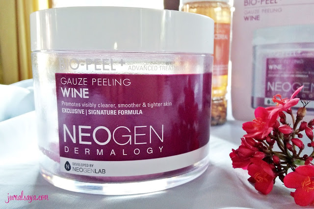neogen dermalogy bio peel gauze peeling wine review