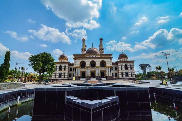 foto masjid agung klaten al aqsa
