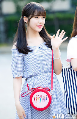 Oh My Girl Arin's Music Bank Commute Style: https://k-starfashion.blogspot.com/2016/08/oh-my-girl-arins-music-bank-commute.html