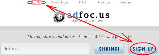 Cara Mendaftar di AdFoc.us