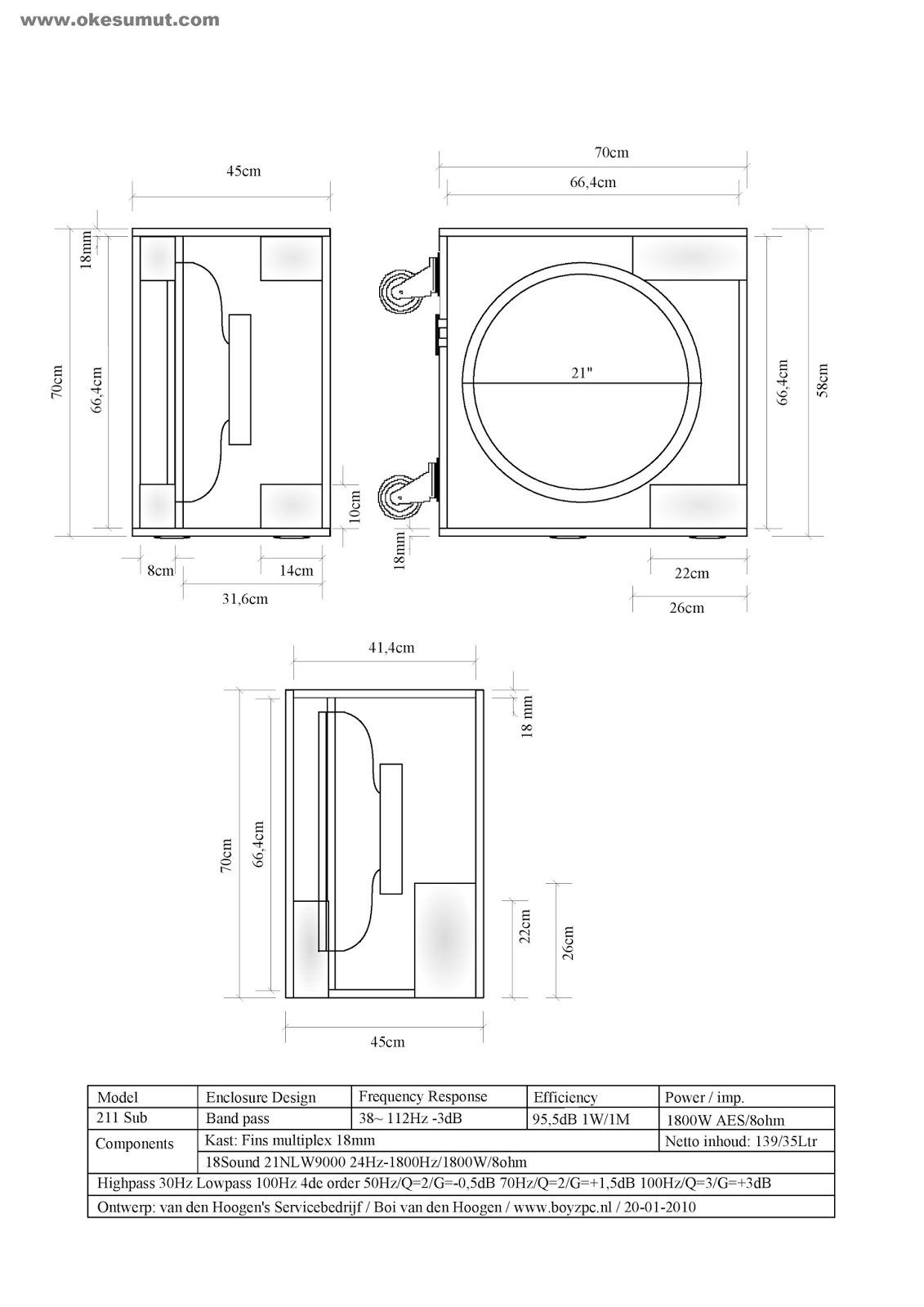Skema Box Speaker 21 Lapangan