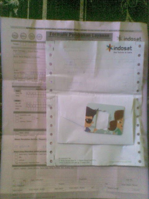 Penggantian Kartu Indosat