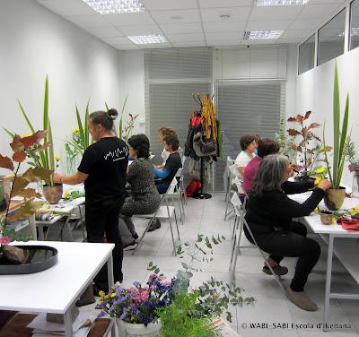 Escola-ikebana-Barcelona-arranjament-floral