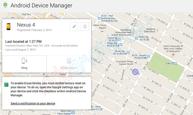 Android Device Manager, Aplikasi Anti Maling Dari Google