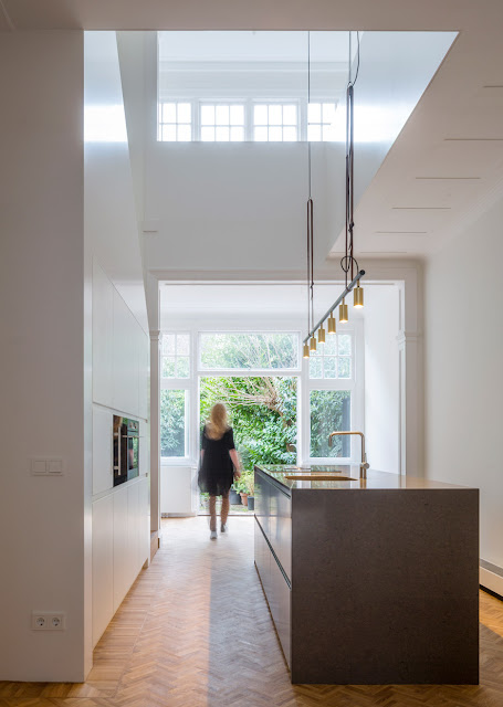 Herringbone Parquet Was Used In This Dutch Townhouse Renovation By Antonia Reif 3