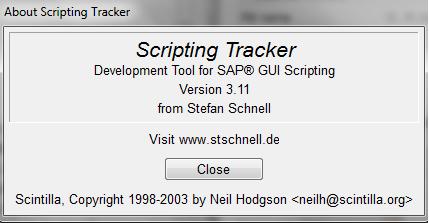 SAP GUI Scripting with Python