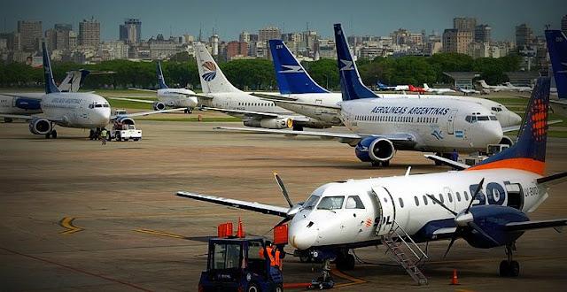 Actividad nula en Ezeiza y Aeroparque, el paro que afecta alrededor de 60.000 pasajeros