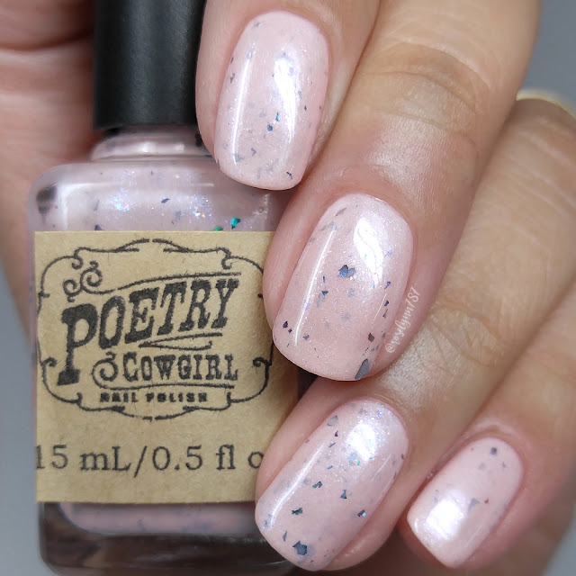 Poetry Cowgirl Nail Polish - Seashells for Sandals (Pink)