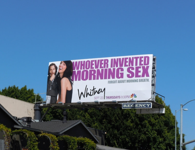 Morning Sex Whitney TV billboard
