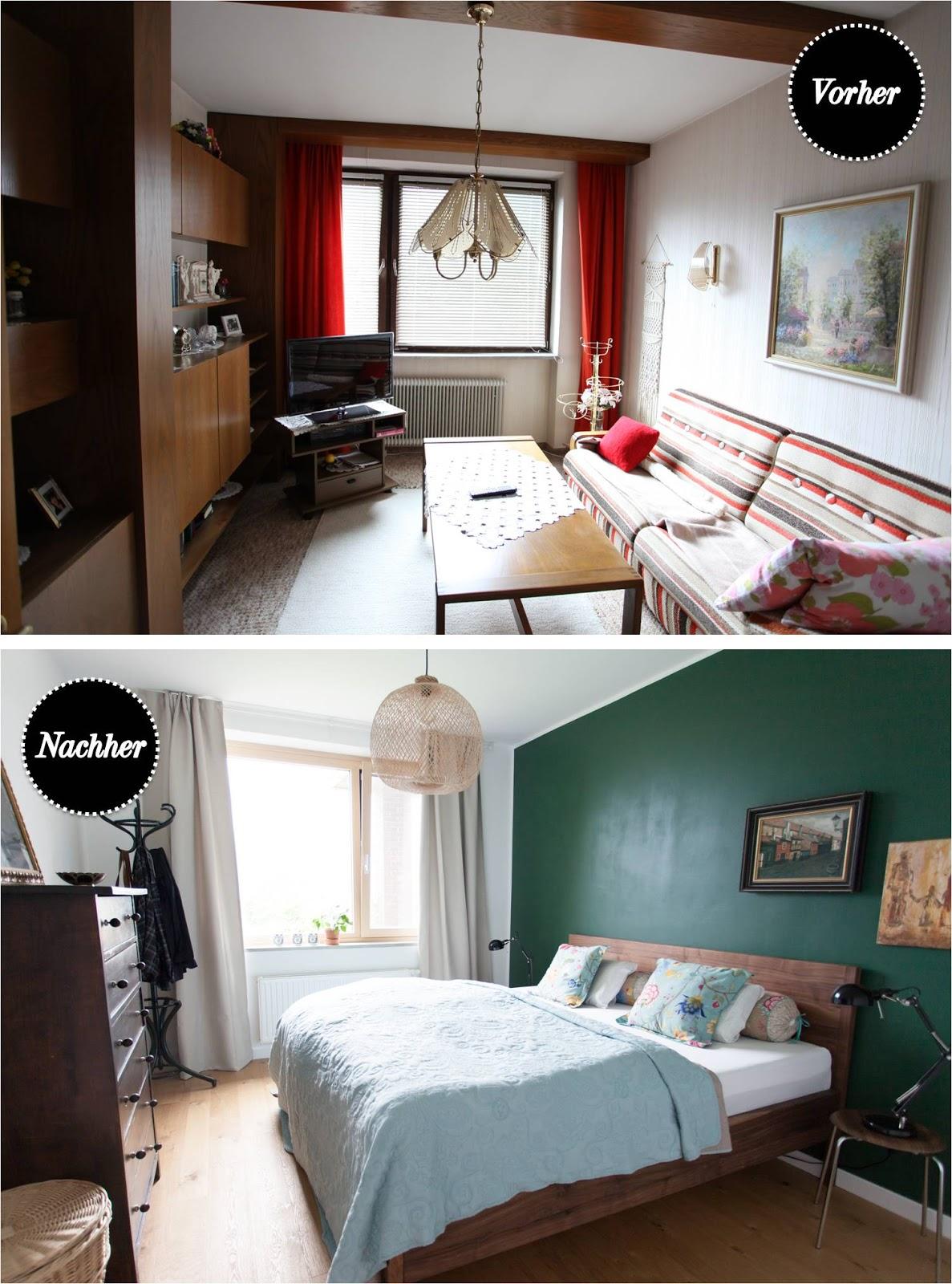 Vorher-Nachher: Unser Schlafzimmer / WOHN:PROJEKT