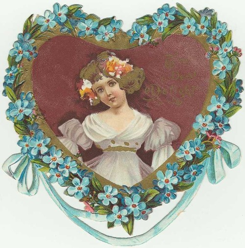 Corações vintage para o dia dos Namorados