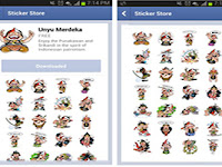 Facebook Ikut Rayakan 17-an dengan Stiker Unyu Merdeka