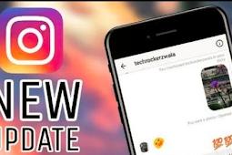 Instagram App Update (update)